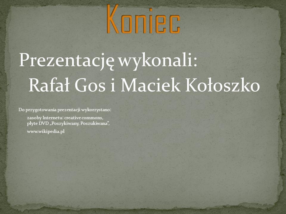 Rafał Gos i Maciek Kołoszko