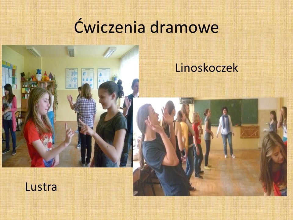 Ćwiczenia dramowe Linoskoczek Lustra