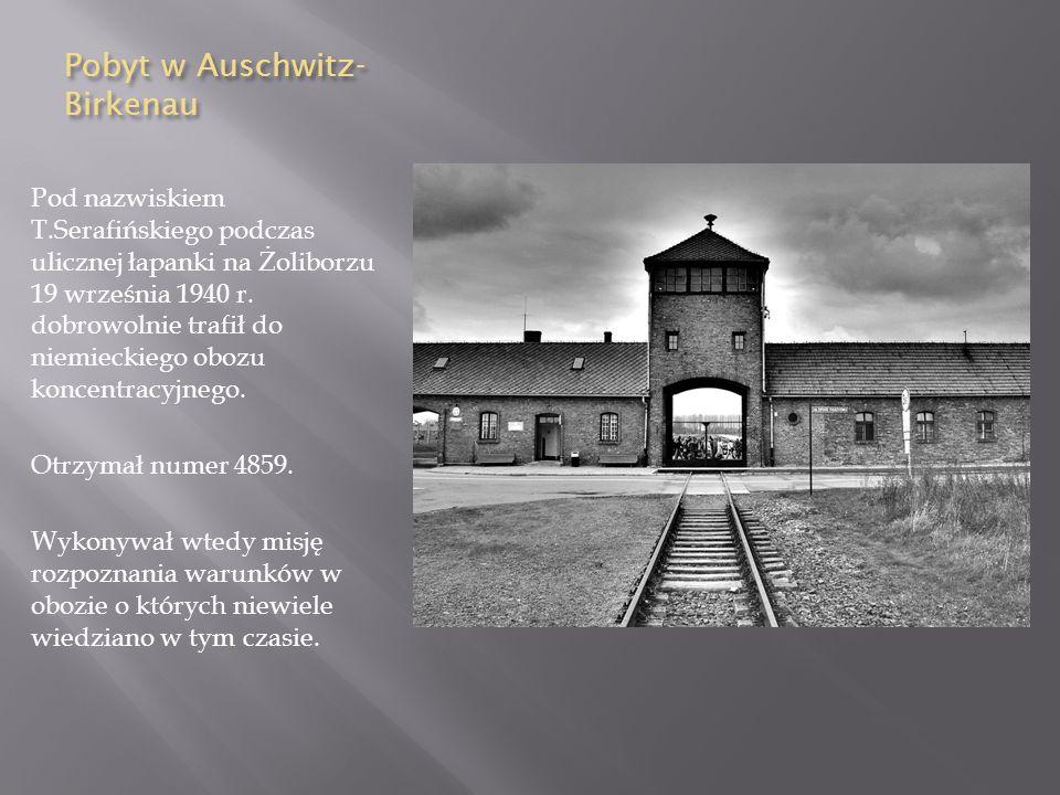 Pobyt w Auschwitz-Birkenau