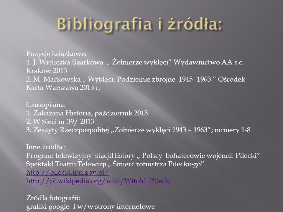 Bibliografia i źródła: