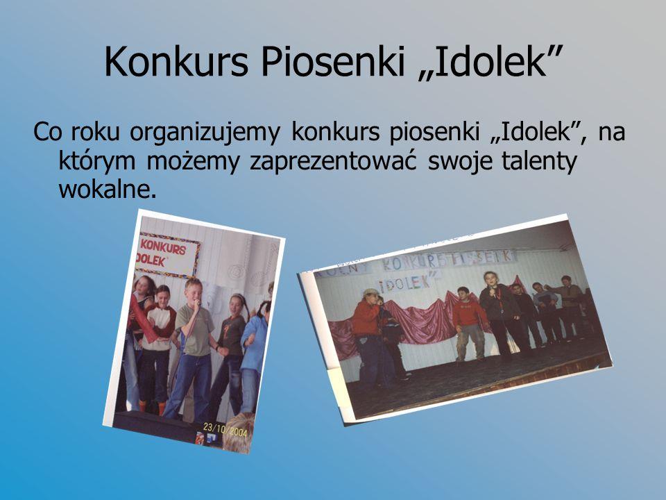 "Konkurs Piosenki ""Idolek"