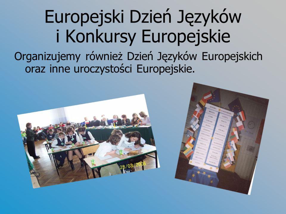 Europejski Dzień Języków i Konkursy Europejskie