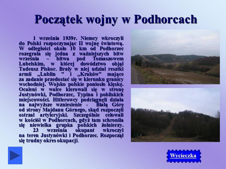 Początek wojny w Podhorcach