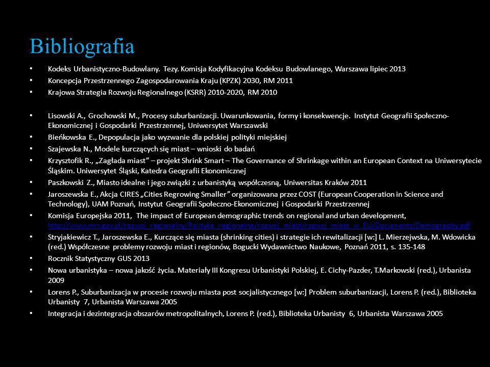 Bibliografia Kodeks Urbanistyczno-Budowlany. Tezy. Komisja Kodyfikacyjna Kodeksu Budowlanego, Warszawa lipiec 2013.