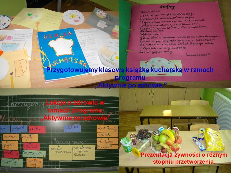 Przygotowujemy klasową książkę kucharską w ramach programu