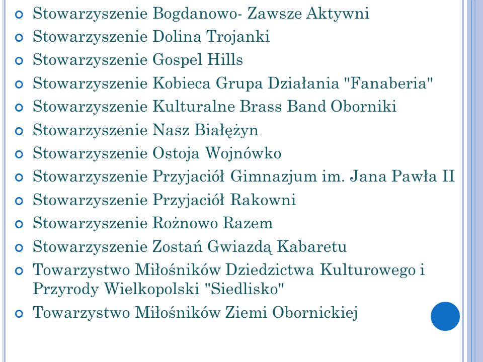 Stowarzyszenie Bogdanowo- Zawsze Aktywni