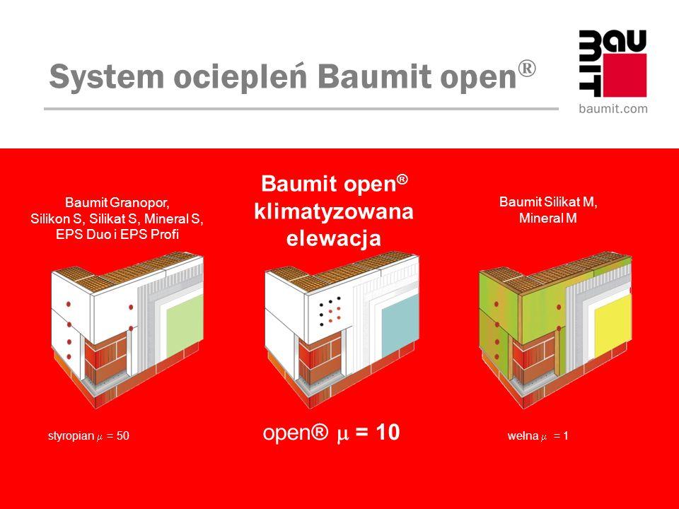 Baumit open® klimatyzowana elewacja