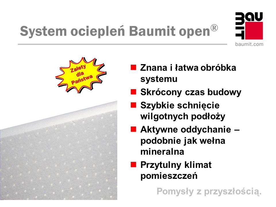 System ociepleń Baumit open®