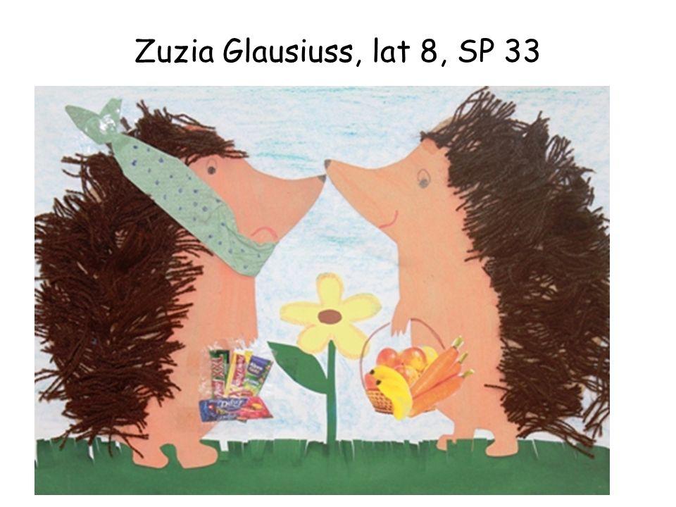 Zuzia Glausiuss, lat 8, SP 33