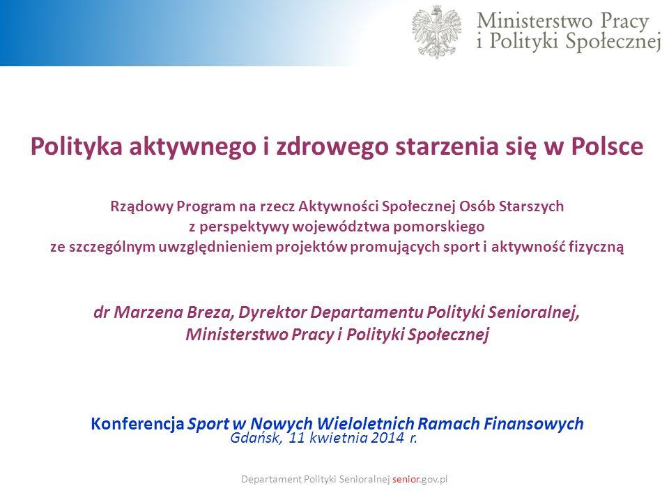 Polityka aktywnego i zdrowego starzenia się w Polsce
