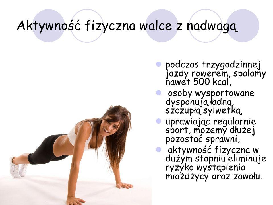 Aktywność fizyczna walce z nadwagą
