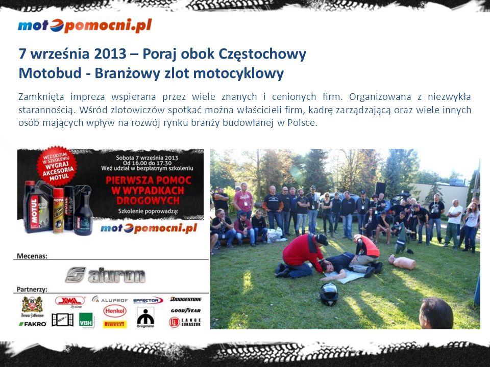 7 września 2013 – Poraj obok Częstochowy