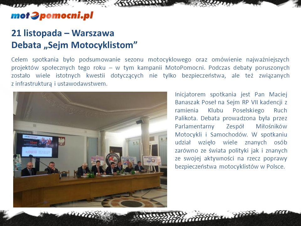 "Debata ""Sejm Motocyklistom"