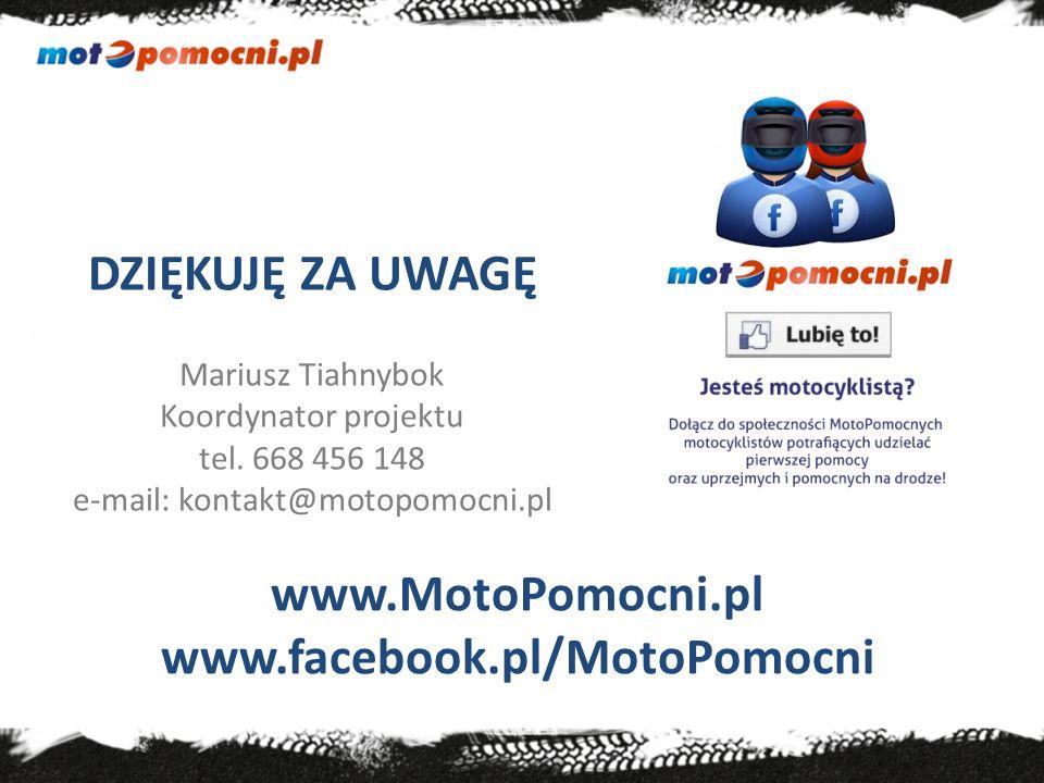 www.MotoPomocni.pl www.facebook.pl/MotoPomocni