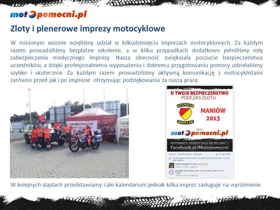 Zloty i plenerowe imprezy motocyklowe