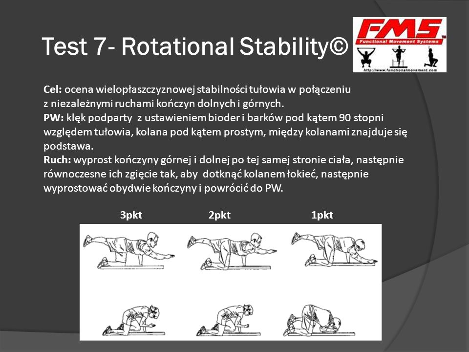 Test 7- Rotational Stability©