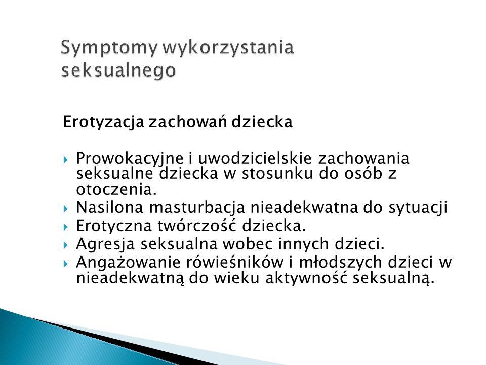 Symptomy wykorzystania seksualnego