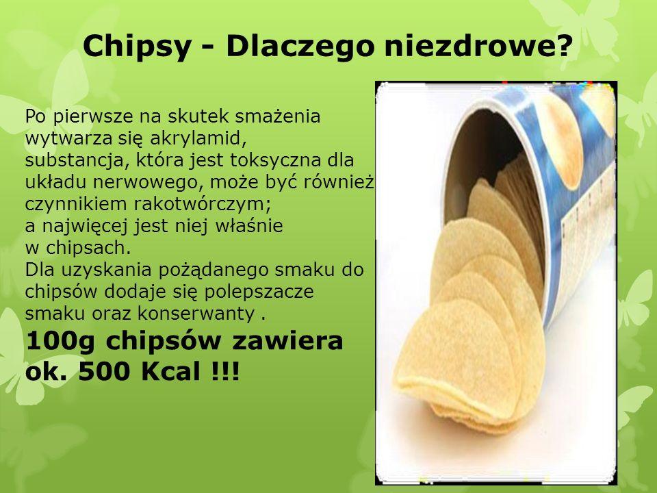 Chipsy - Dlaczego niezdrowe