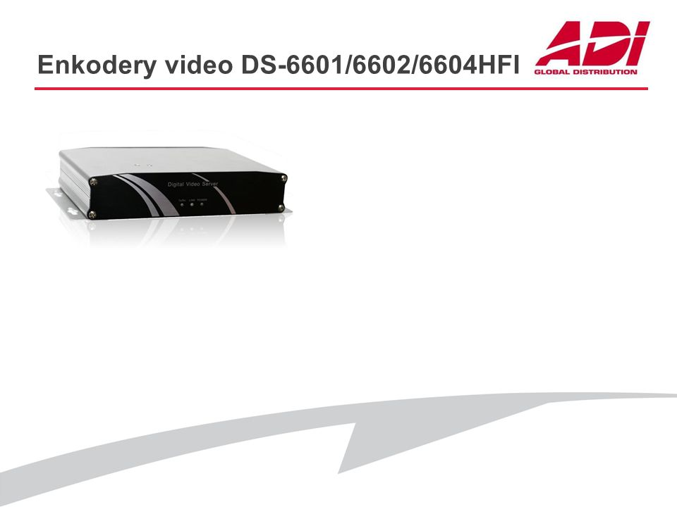 Enkodery video DS-6601/6602/6604HFI