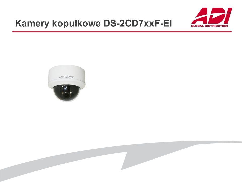 Kamery kopułkowe DS-2CD7xxF-EI