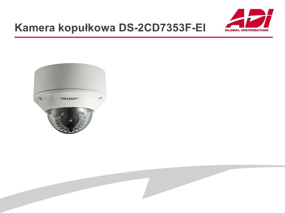 Kamera kopułkowa DS-2CD7353F-EI