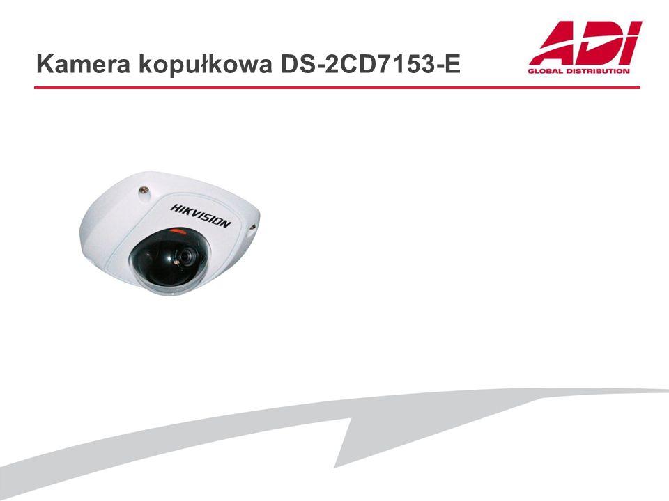 Kamera kopułkowa DS-2CD7153-E