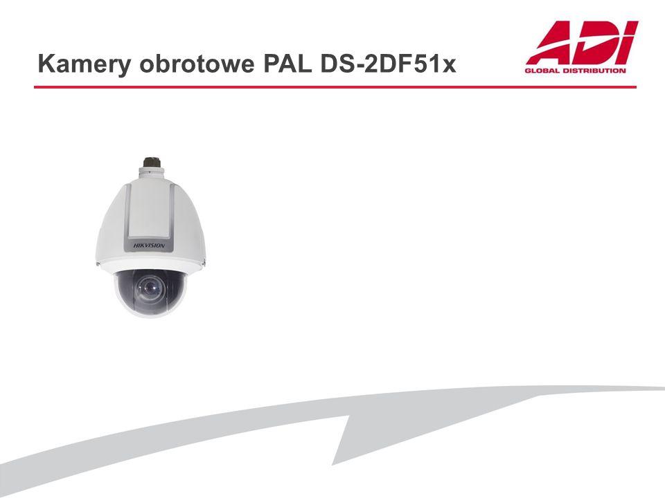Kamery obrotowe PAL DS-2DF51x
