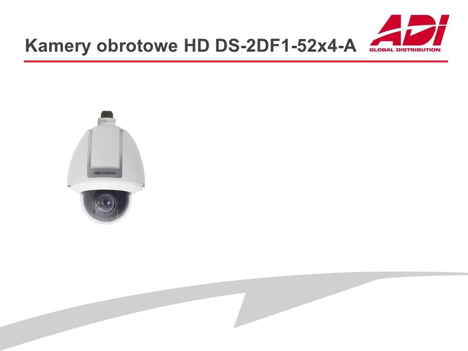 Kamery obrotowe HD DS-2DF1-52x4-A