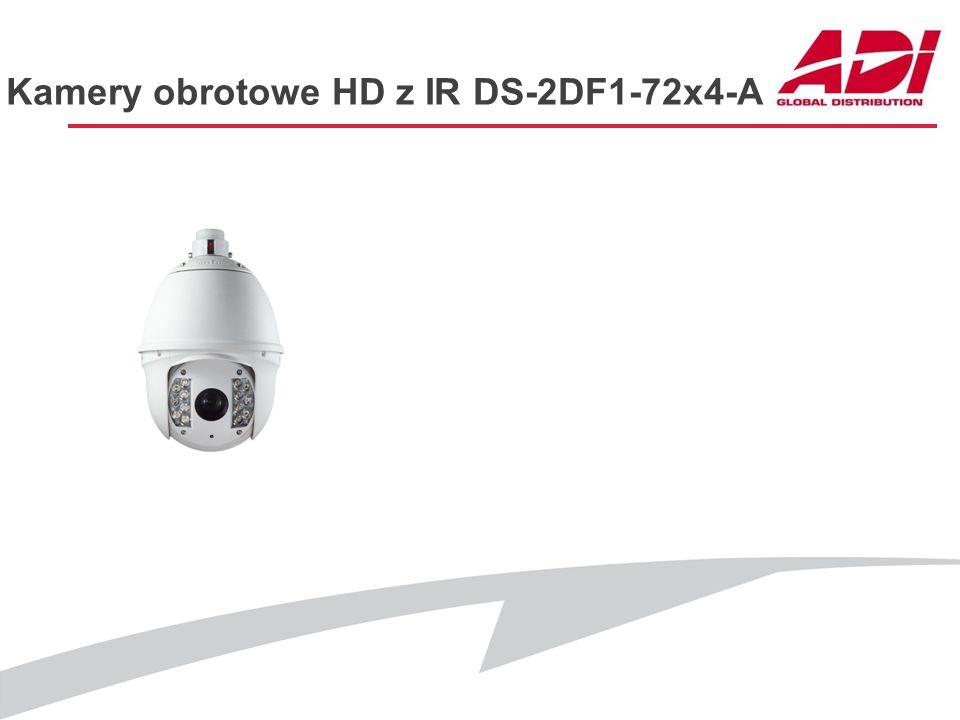 Kamery obrotowe HD z IR DS-2DF1-72x4-A