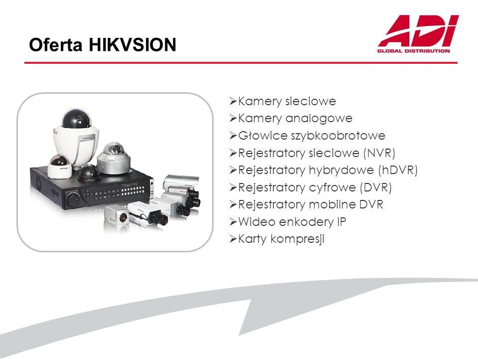 Oferta HIKVSION Kamery sieciowe Kamery analogowe