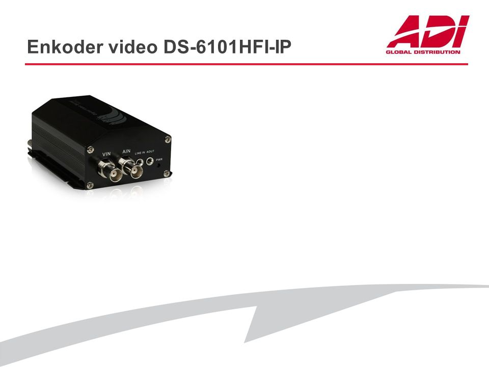 Enkoder video DS-6101HFI-IP
