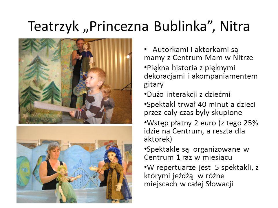 """Teatrzyk """"Princezna Bublinka , Nitra"""