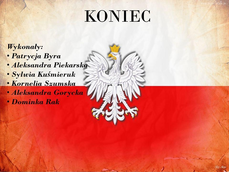 KONIEC Wykonały: Patrycja Byra Aleksandra Piekarska Sylwia Kuśmieruk