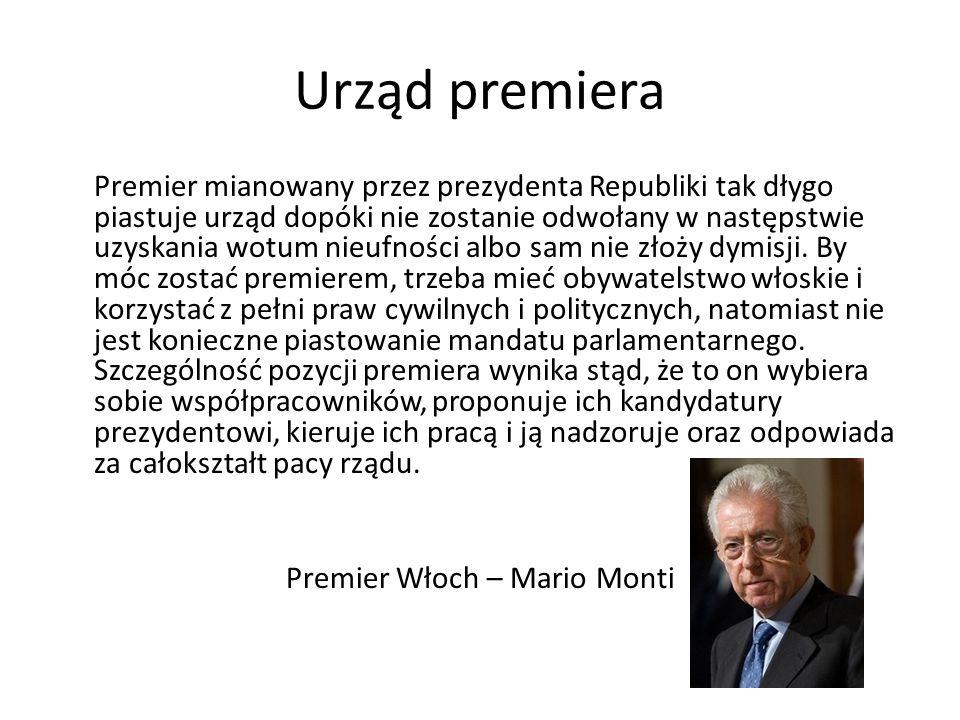 Premier Włoch – Mario Monti