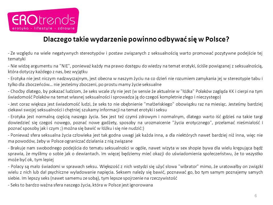 Dlaczego takie wydarzenie powinno odbywać się w Polsce
