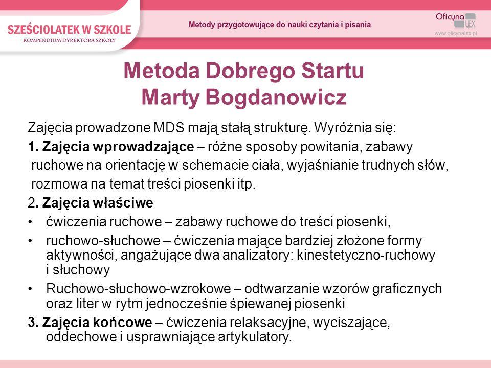Metoda Dobrego Startu Marty Bogdanowicz