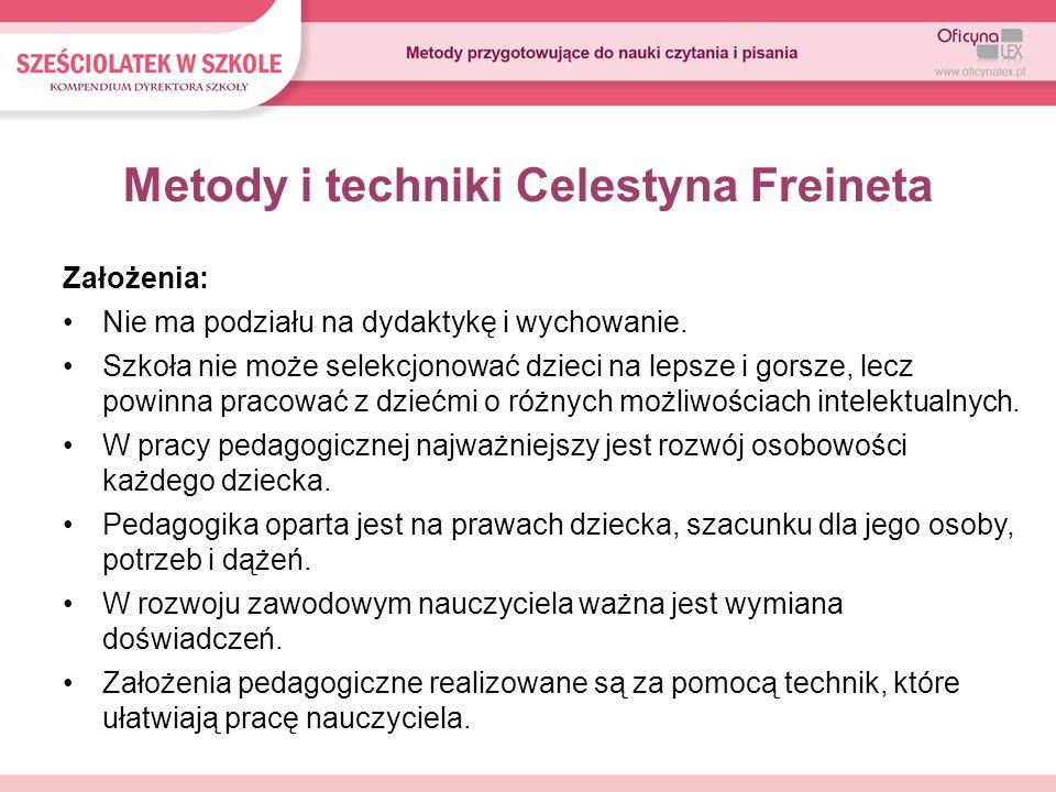 Metody i techniki Celestyna Freineta