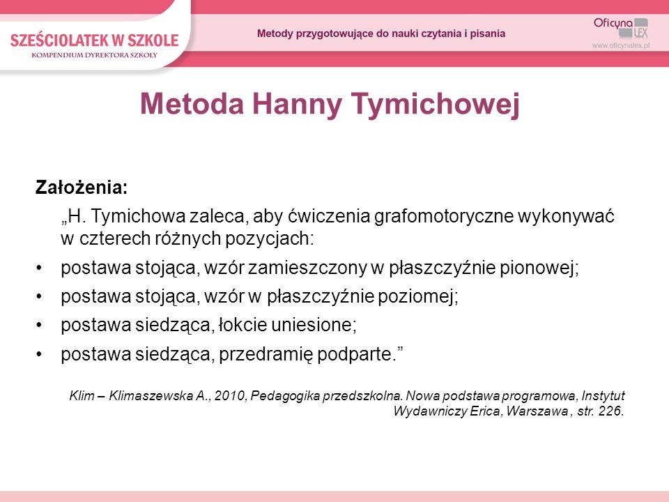 Metoda Hanny Tymichowej