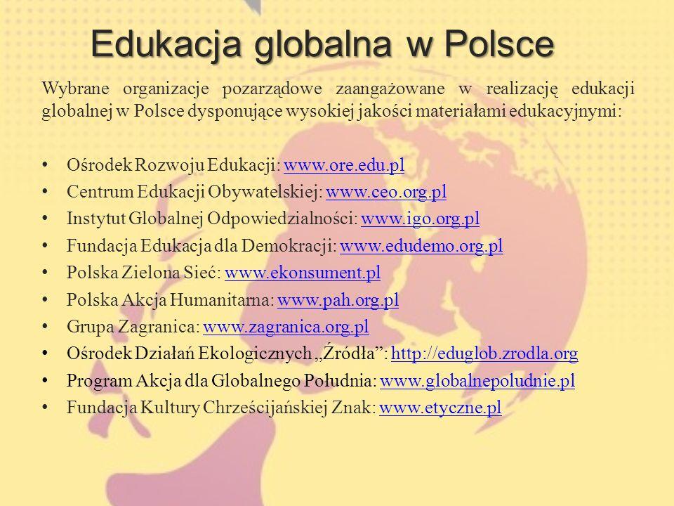 Edukacja globalna w Polsce