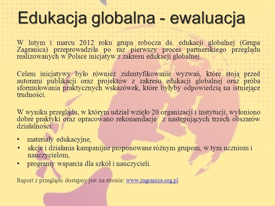 Edukacja globalna - ewaluacja