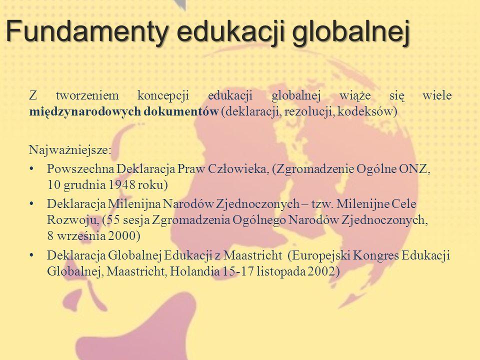 Fundamenty edukacji globalnej
