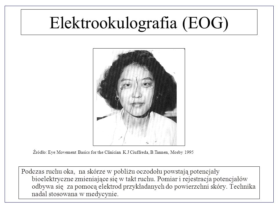 Elektrookulografia (EOG)