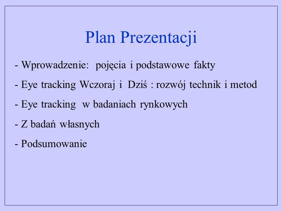 Plan Prezentacji Wprowadzenie: pojęcia i podstawowe fakty