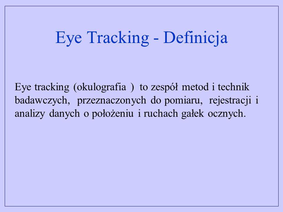 Eye Tracking - Definicja