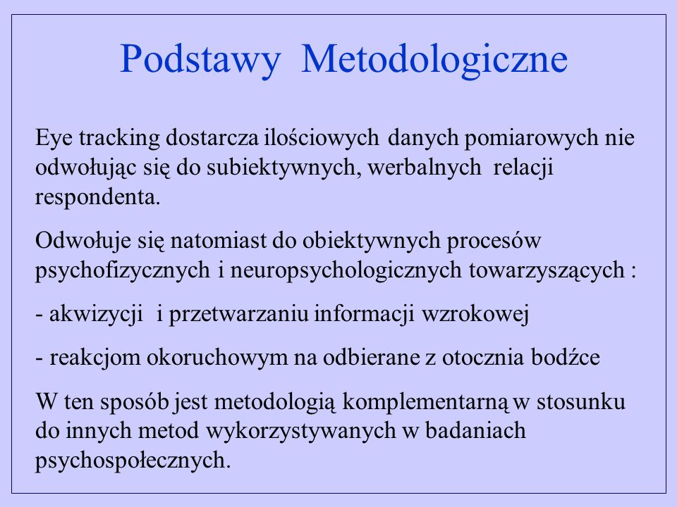 Podstawy Metodologiczne