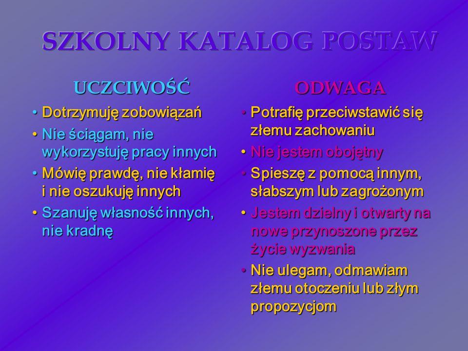 SZKOLNY KATALOG POSTAW