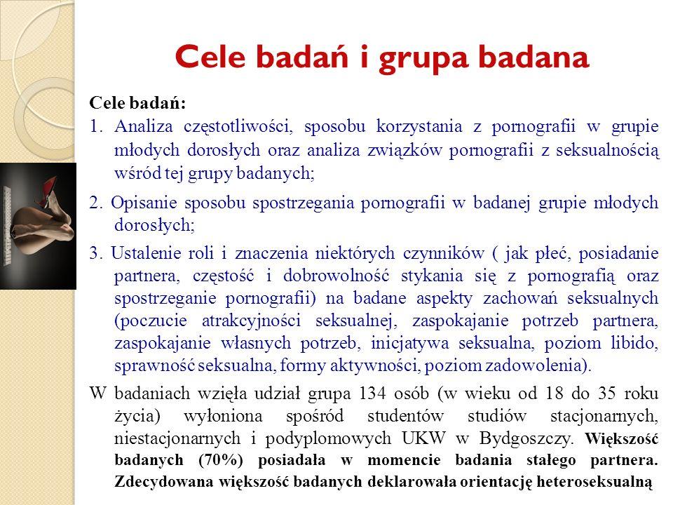 Cele badań i grupa badana