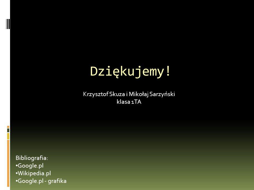 Krzysztof Skuza i Mikołaj Sarzyński