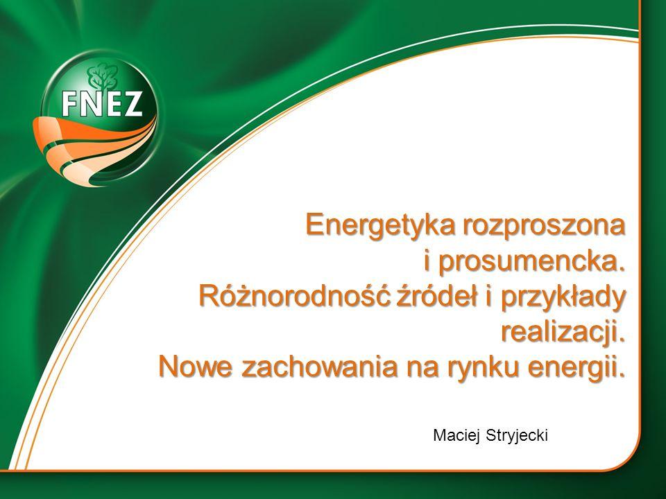 Energetyka rozproszona i prosumencka