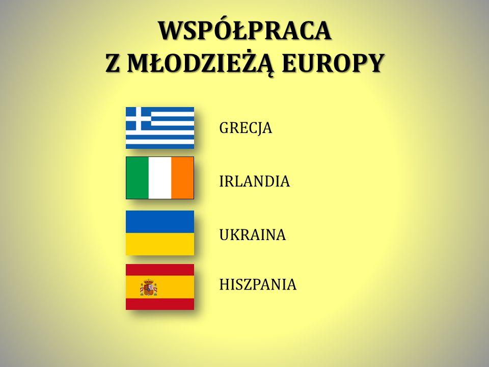 WSPÓŁPRACA Z MŁODZIEŻĄ EUROPY